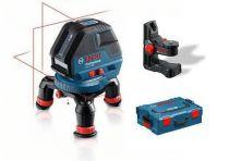Křížový laser Bosch GLL 3-50 Professional + držák BM 1 + L-Boxx