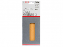 10x Brusný papír Bosch Best for Wood and Paint C470 93x230mm, hr.120, 8 otvorů