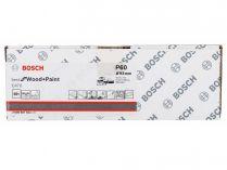 50x Brusný papír Bosch Best for Wood and Paint C470 93x186mm, hr.60, 8 otvorů