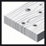 10x Brusný papír - brusivo pro vibrační brusky Bosch Expert for Wood and Paint C430 115x280mm, hr. 40, 14 otvorů (2608605341) Bosch příslušenství
