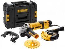 Úhlová bruska DeWALT DWE4257KT-QS - 1500W, 125mm, regulace, 2.6kg