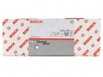 50x Brusný návlek Bosch Best for Metal X573 45x30mm, zr.80