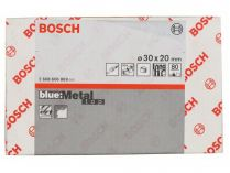 50x Brusný návlek Bosch Best for Metal X573 30x20mm, zr.80