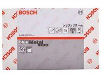 50x Brusný návlek Bosch Best for Metal X573 30x30mm, zr.80