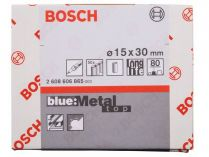 50x Brusný návlek Bosch Best for Metal X573 15x30mm, zr.80