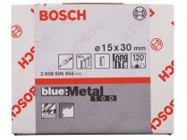 50x Brusný návlek Bosch Best for Metal X573 15x30mm, zr.120