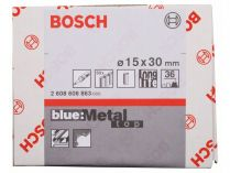 50x Brusný návlek Bosch Best for Metal X573 15x30mm, zr.36