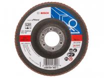 Lamelový brusný kotouč Bosch Expert for Metal X551 115mm, zr.120, rovný