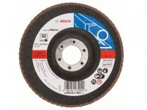 Lamelový brusný kotouč Bosch Expert for Metal X551 125mm, zr.60, rovný