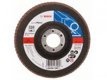 Lamelový brusný kotouč Bosch Expert for Metal X551 125mm, zr.120, rovný