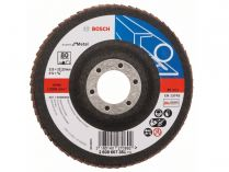 Lamelový brusný kotouč Bosch Expert for Metal X551 115mm, zr.80, rovný