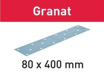 50x Brusný papír Festool Granat - 80x400mm, zr.100