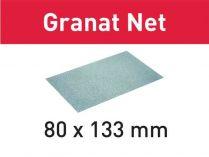 50x Brusná mřížka Festool Granat Net 80x133mm, zr.100