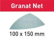 50x Brusná mřížka Festool Granat Net 100x150mm, zr.120