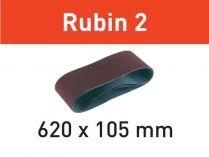 10x Brusný pás Festool Rubin 2 - 620x105mm, zr.150