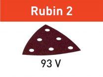 50x Brusný papír Festool Rubin 2 - 93mm, zr.180
