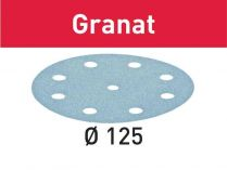 10x Brusný papír Festool Granat - 125mm, zr.180