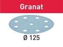 100x Brusný papír Festool Granat - 125mm, zr.400