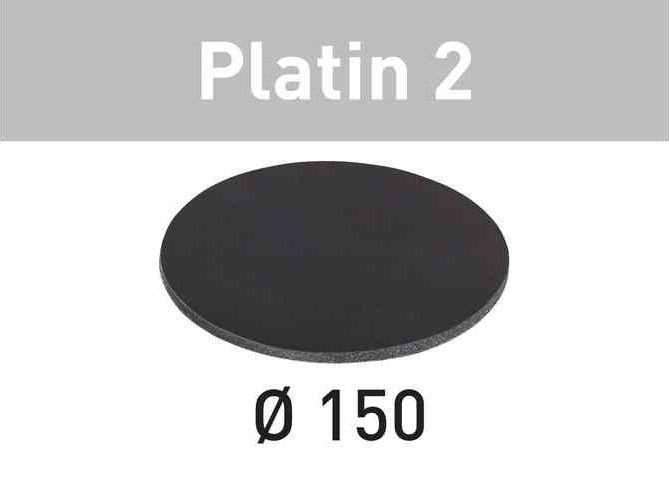 15x Brusný papír - brusivo pro brusky Festool RO 125, ES 125, ETS 125, ETSC 125, ETS EC 125, LEX 125 (Festool Platin 2 STF D150/0 S1000 PL2/15) 150mm, zr. 1000 (492370)