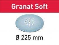 25x Brusný papír Festool Granat Soft - 225mm, zr.80