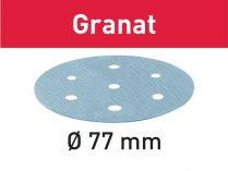 50x Brusný papír Festool Granat - 77mm, zr.150