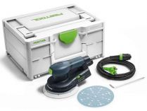 Festool ETS EC 150/3 EQ-Plus - 400W, 150mm, 1.2kg, 3mm, kufr, excentrická bruska