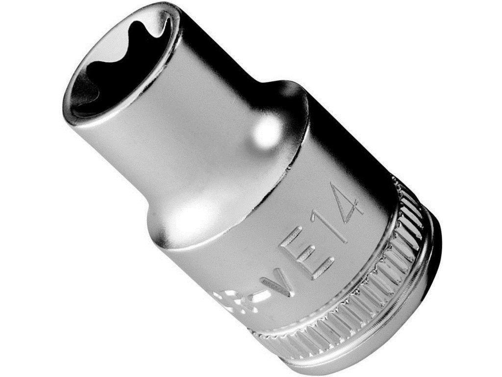 """Nástrčná hlavice Narex 3/8"""", TORX E10, 28mm, chrom-vanadová ocel (443001312) Narex Professional"""