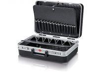 """Kufřík na nářadí KNIPEX """"Vision24"""" Elektro - 480×370×175mm, z plastu ABS, prázdný, nosnost 20kg"""