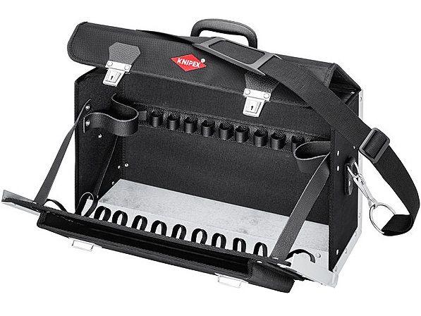 """KNIPEX - Brašna na nářadí """"New Classic Basic""""- 420×250×160mm, 11 vnitřních kapes, 3.4kg (002102LE)"""