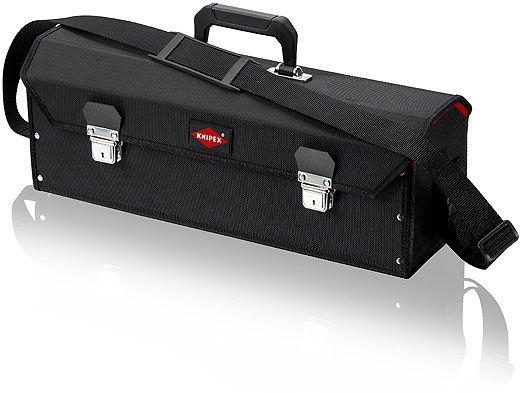 """KNIPEX - Brašna na nářadí """"VDE standard""""- 520×200×230mm, pro nářadí do délky cca 450mm, 1.5kg (002107LE)"""