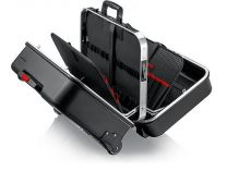 """KNIPEX - Kufr na nářadí """"BIG Twin Move"""" Elektro - 510×215×419mm, ABS plast, 21ks značkového nářadí, částečně VDE, nosnost 30kg, objem 38l, trolej na kolečkách, 13.4g (002141)"""
