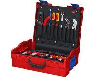 Box na nářadí KNIPEX L-BOXX® Elektro - 442×151×357mm, osazen 63 kusy značkového nářadí VDE