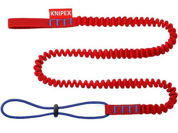 KNIPEX T BK Záchytná šňůra - poutko na zápěstí, vhodné pro všechny kleště KNIPEX s připevňovacím okem, max. zatížení: hmotnost nástroje 1.5kg (005001TBK)