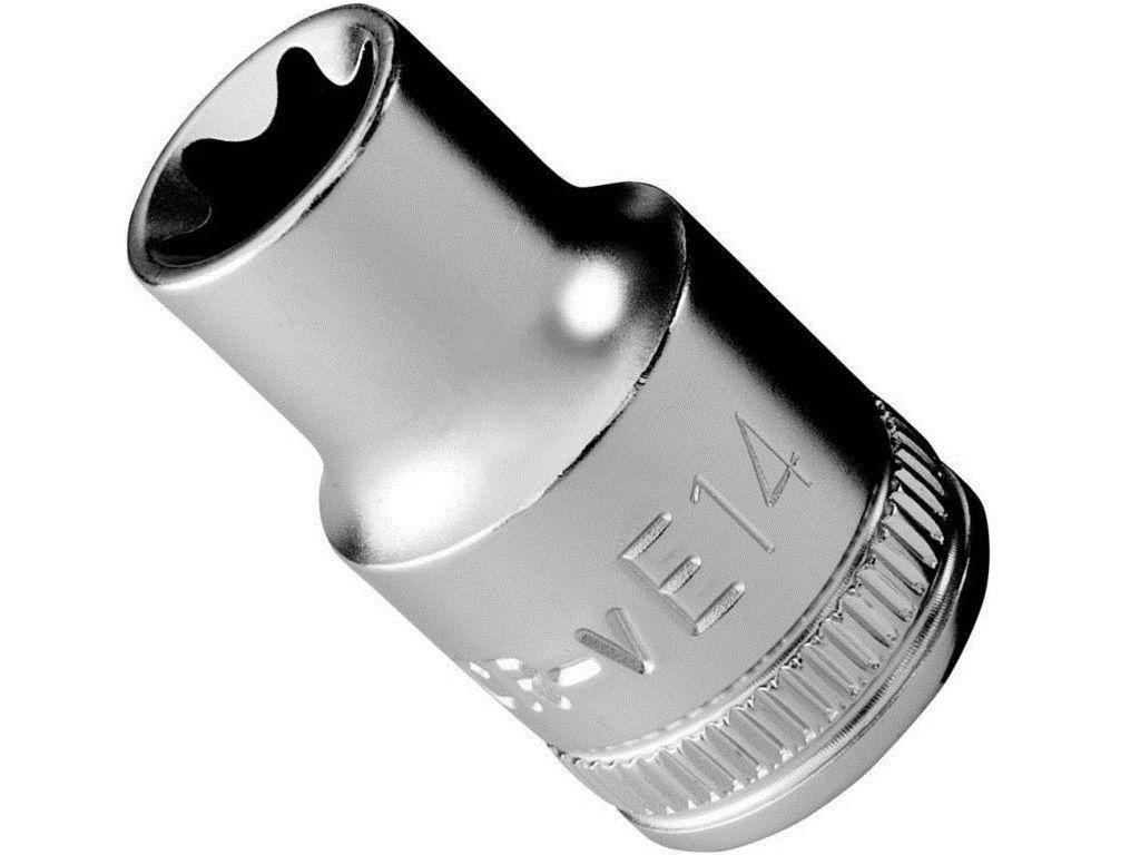 """Nástrčná hlavice Narex 1/2"""", TORX, E8, chrom-vanadová ocel (443001137) Narex Professional"""
