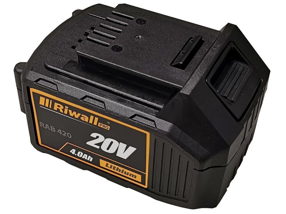 Akumulátor Riwall PRO RAB 420 - 20V/4.0Ah (RACC00079)