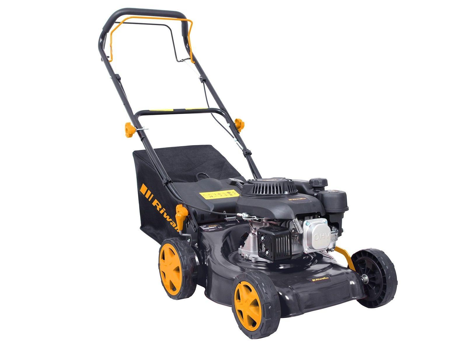 Benzinová sekačka na trávu s pojezdem Riwall PRO RPM 4234 - 132cm3, 40cm, 24.5kg (PM12B2001078A)