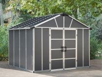 Palram PALRAM YUKON 11 x 9 Antracit s možností rozšíření - polykarbonátový zahradní domek