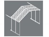 Rozšiřovací modul Palram pro domky série YUKON 11 antracit