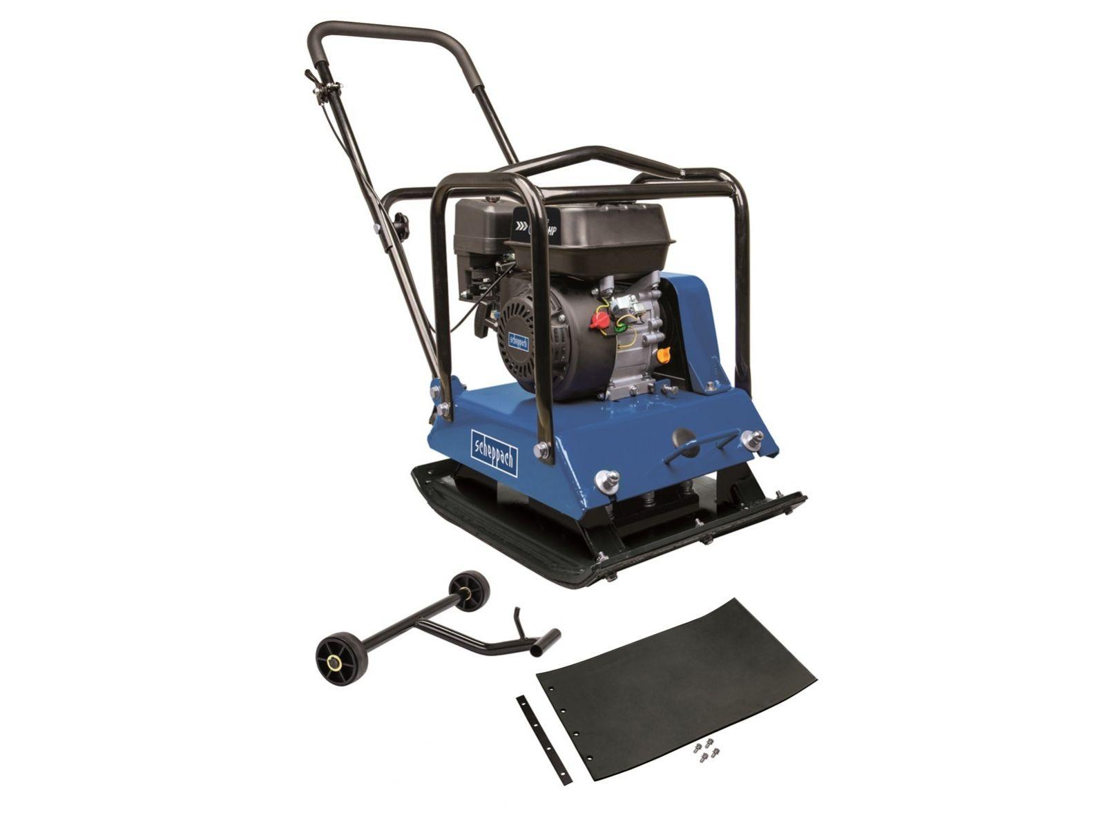 Vibrační pěch - obousměrná vibrační deska Scheppach HP 2200 S - 4.8kW/6.5HP, 550x440mm, 102kg (5904612903)