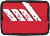 Zobrazit detail - 10 dílná sada pilových plátků do pily ocasky Milwaukee 49220220 - MIX