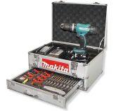 Makita DHP453SYEX - 2x 18V/1.5Ah, 42Nm, 2 rychl., 1.7kg, příslušenství, kufr, aku vrtačka s příklepem