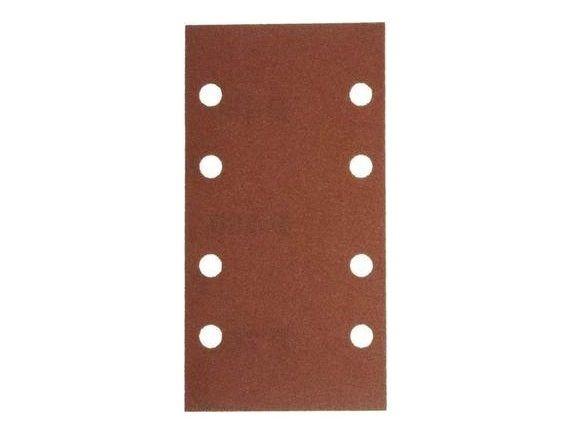 10x Brusný papír - brusivo pro vibrační brusku Narex EBV 180 E (Narex BP-EBV) 93x178mm, zr.60 (00632186)