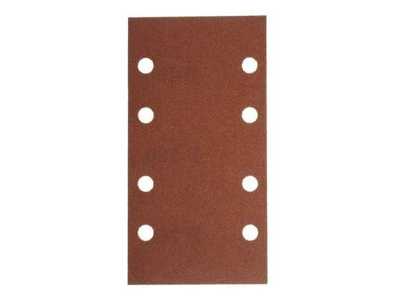 10x Brusný papír - brusivo pro vibrační brusku Narex EBV 180 E (Narex BP-EBV) 93x178mm, zr.120 (00632189)