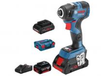 Bosch GDR 18V-200 C Professional + 2x 18V/5.0Ah + kufr + aku 4.0Ah