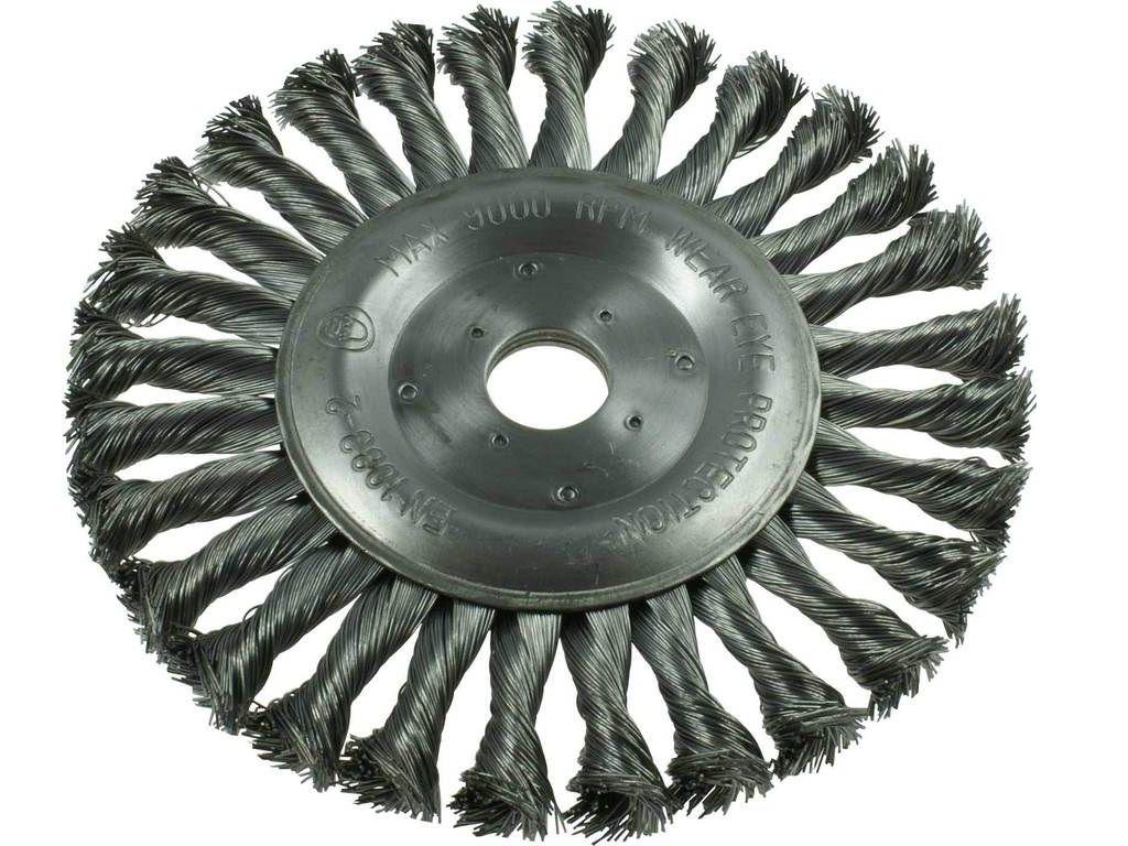 Okružní ocelový kartáč copánkový Narex KDB 115x22.2mm (00647453)