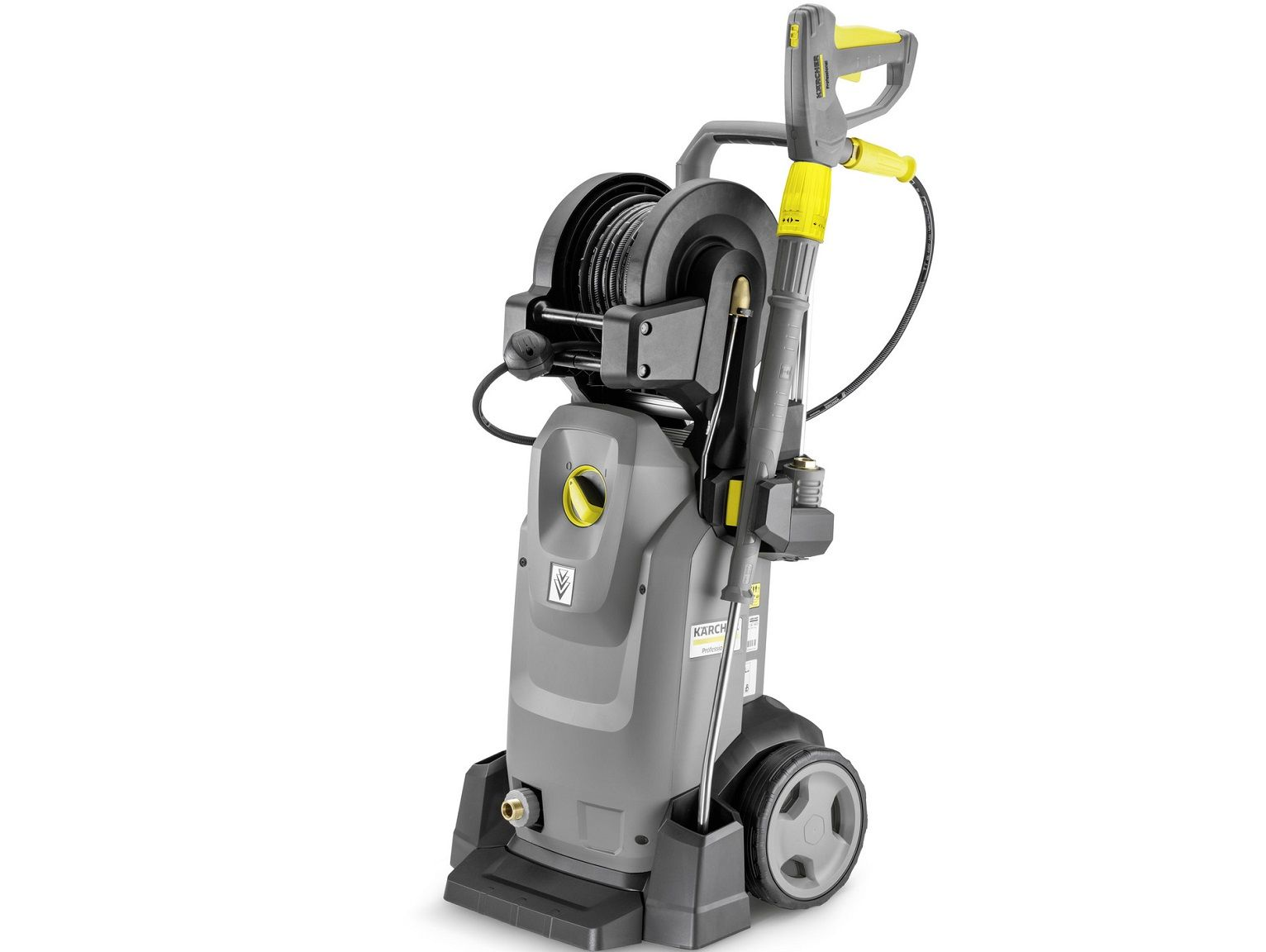 Profi vysokotlaký čistič Kärcher HD 7/16-4 MXA Plus - 4200W, 30-160bar, 700l/h, 45.1kg, 455x400x966mm (1.524-959.0)