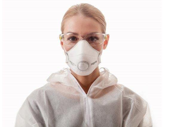 REFIL 1031 tvarovací respirátor FFP2 NR D s ventilkem - 10ks Cerva Group A. S.