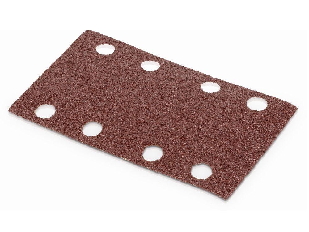 5x Brusný papír - brusivo pro vibrační brusku KREATOR KRT200007 - 80x133mm, zr.120