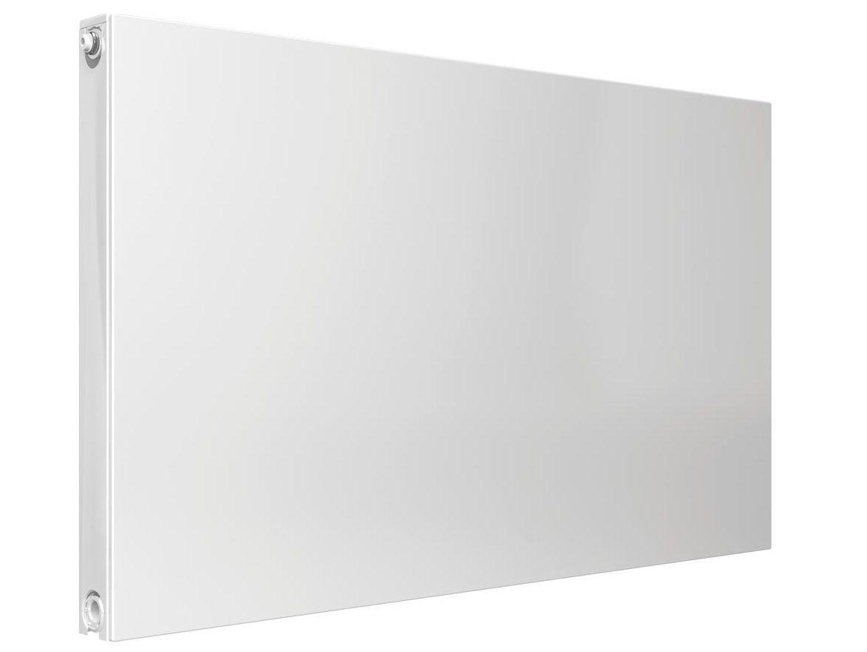 Deskový plochý radiátor Korado Radik Plan VK 22-60P00 600x700 mm (Deskové otopné těleso s hladkou čelní deskou a pravým spodním připojením), kód 22060070-60P0010