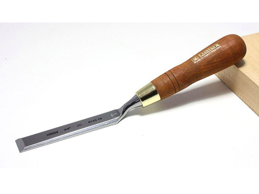 Dláto truhlářské ploché zalomené Narex WOOD LINE PLUS 19mm, chrom-manganová ocel (813319) Narex Bystřice